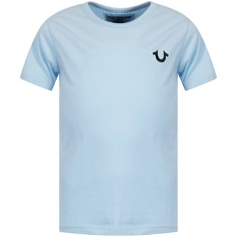 Light Blue Back Logo T-Shirt