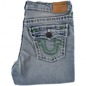 32b3df92b True Religion Junior Light Wash Geno Super T Jeans