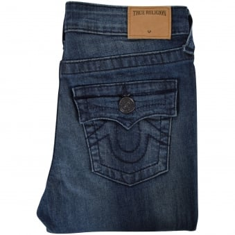True Religion Junior Mid Wash Rocco Skinny Fit Jeans