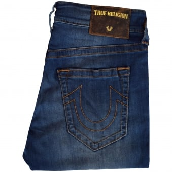 True Religion Mid Wash Jack SE Skinny Fit Jeans