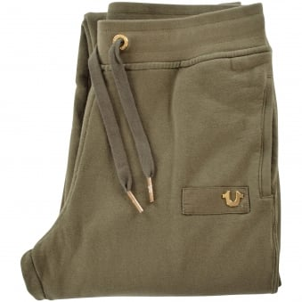 True Religion Military Green Exclusive Joggers
