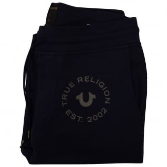 True Religion Navy Crafted With Pride Joggers