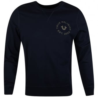 True Religion Navy Crafted With Pride Sweatshirt