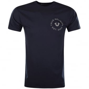True Religion Navy Crafted With Pride T-Shirt