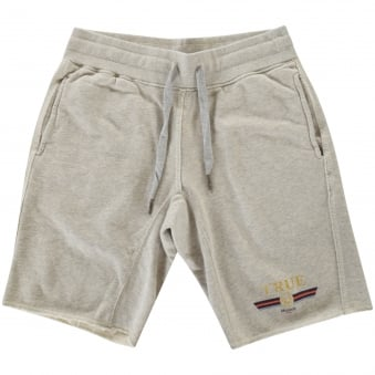 True Religion Printed Fleece Shorts