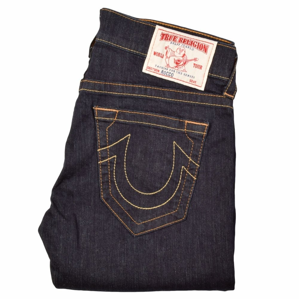 ae36a16c8 TRUE RELIGION True Religion Rocco Dark Wash Skinny Fit Jeans ...