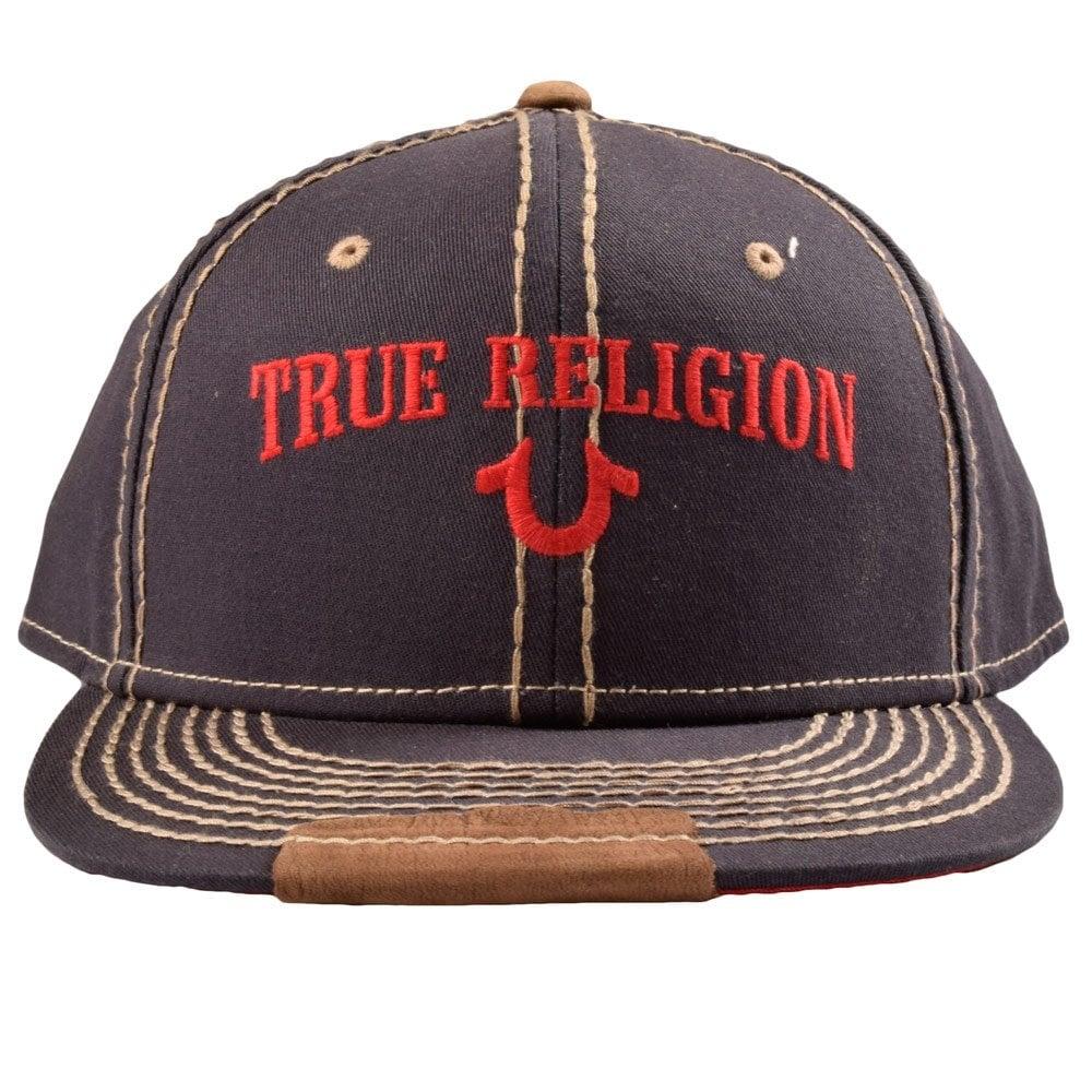 TRUE RELIGION TR1838 True Religion Navy/Grey Stitch Snap ...