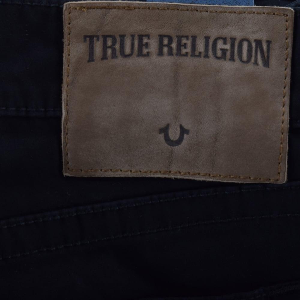 TRUE RELIGION True Religion Black Rocco Relaxed Chino ...