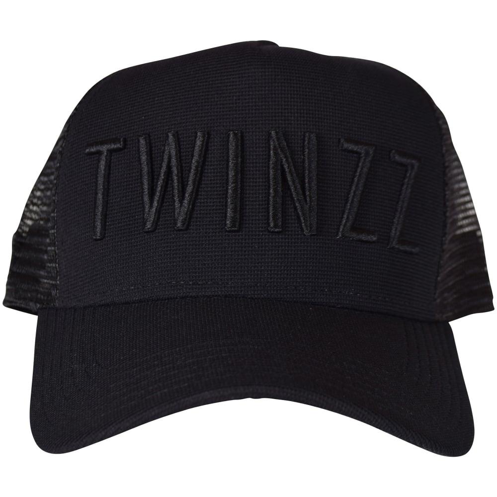 734cfefb TWINZZ Twinzz Black/Black Mesh Trucker Cap - Department from ...