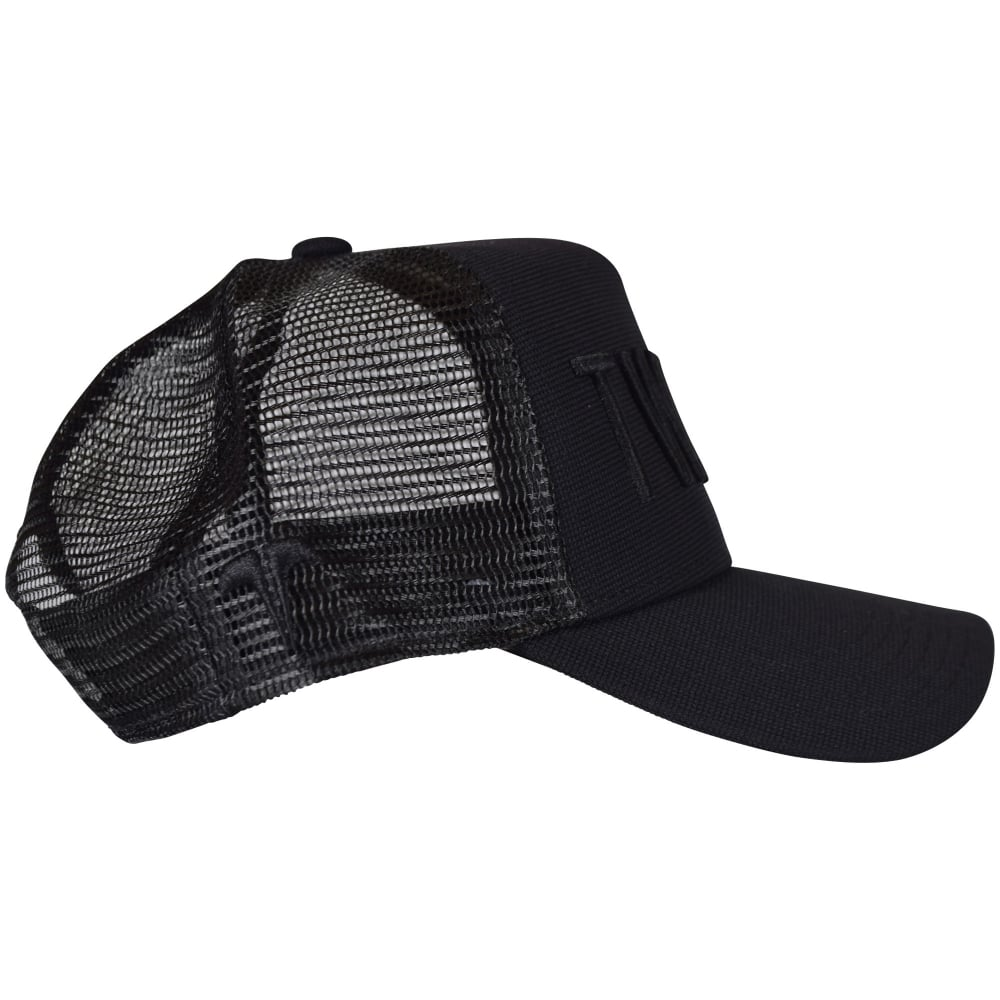 b4c2a989c1 TWINZZ Twinzz Black Black Mesh Trucker Cap - Men from Brother2Brother UK