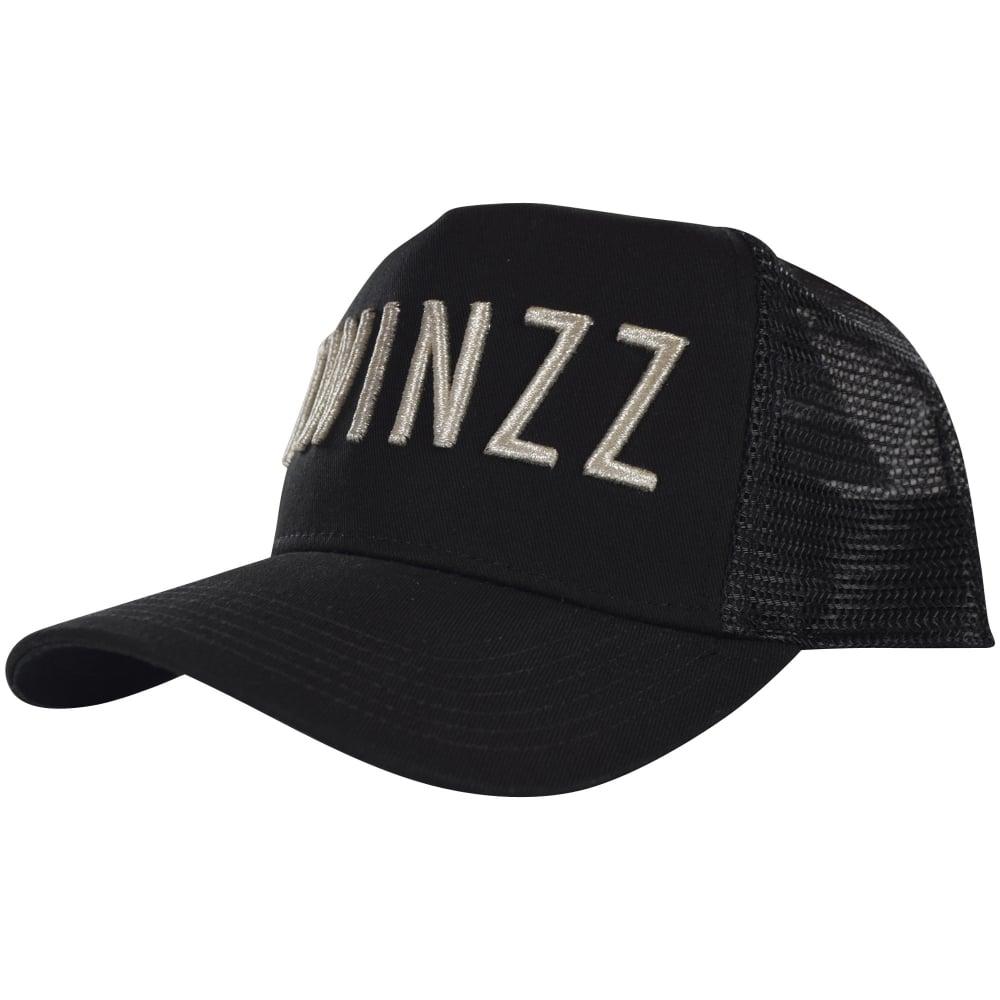 00c63c90 TWINZZ Twinzz Black Mesh Trucker Cap With Silver Logo - Department ...
