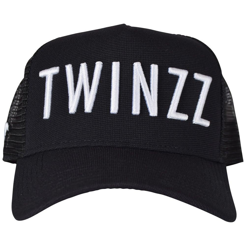 f3746932 TWINZZ Twinzz Black/White Mesh Trucker Cap - Department from ...