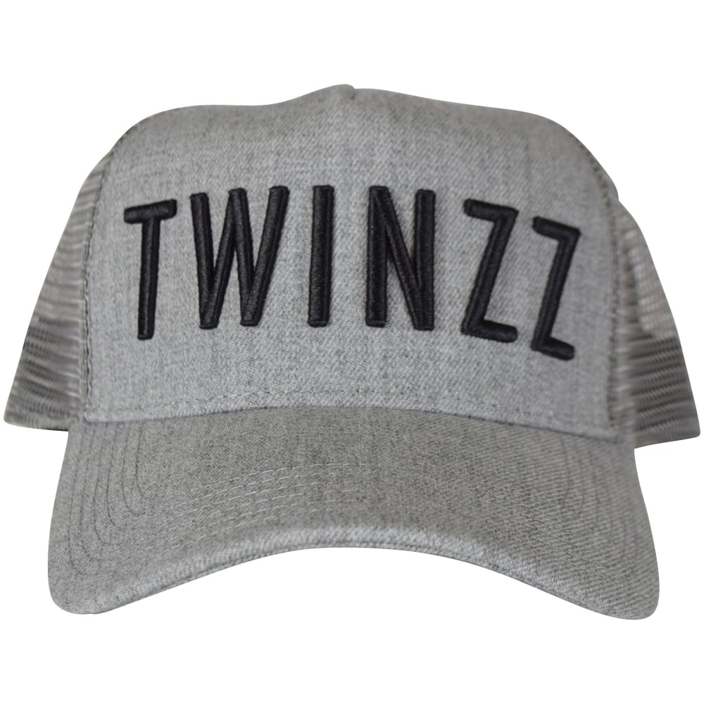 da6f17a1 TWINZZ Twinzz Grey/Black mesh Trucker Cap - Department from ...