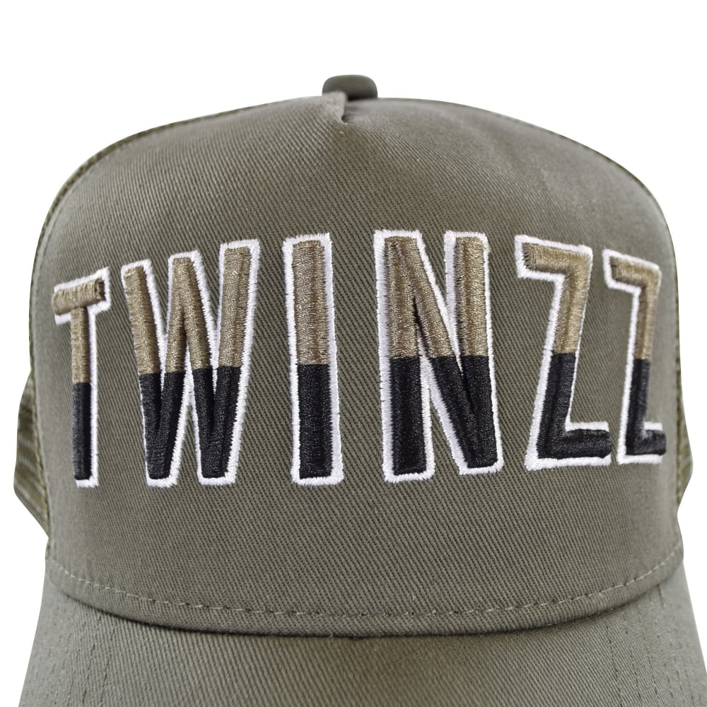 05eec4a7 TWINZZ Twinzz Two Tone Liquid Khaki Mesh Trucker Cap - Department ...