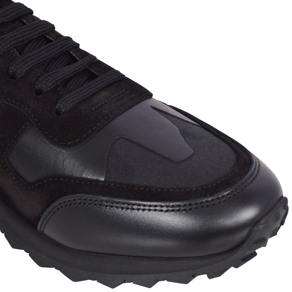 black camo valentino trainers