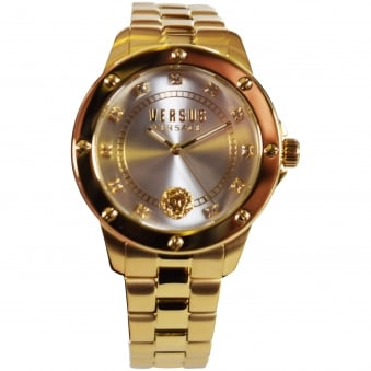 Versus Versace Gold Plated Stainless Steel South Horizons Watch