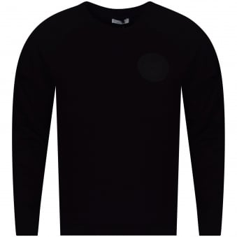 Versace Collection Black Crew Neck Pullover