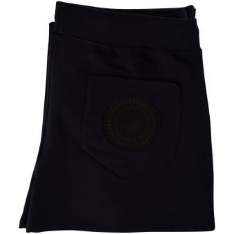 Versace Collection Black Cuffed Joggers