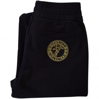 Versace Collection Black/Gold Stripe Jogging Bottom