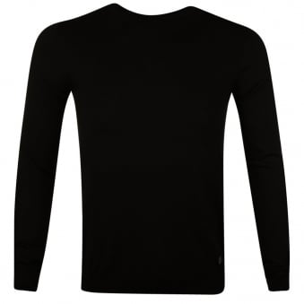 Versace Collection Black Medusa Knit Jumper