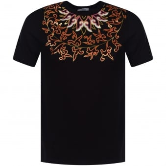 Versace Collection Black/Multi Print T-Shirt