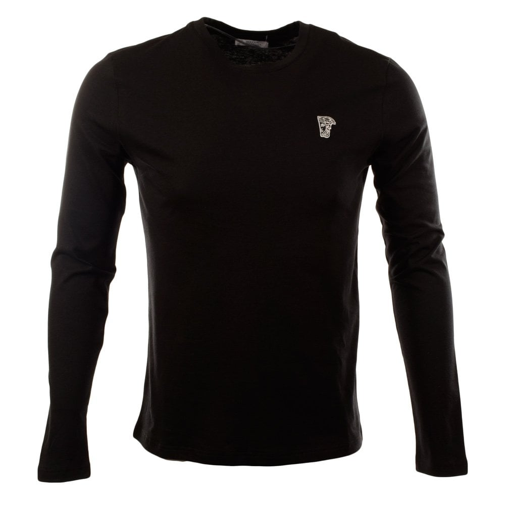 c520790c Long Sleeve Nero Black T-Shirt