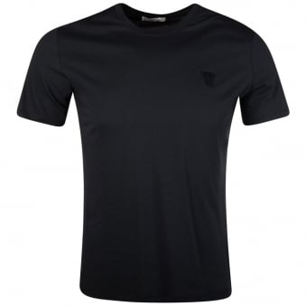 Versace Collection Navy Basic T-Shirt