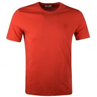 Versace Collection Red Basic T-Shirt