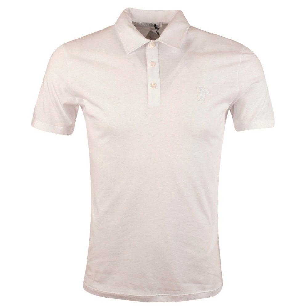 ba1ca3b0 VERSACE COLLECTION Versace Collection White Medusa Polo Shirt ...
