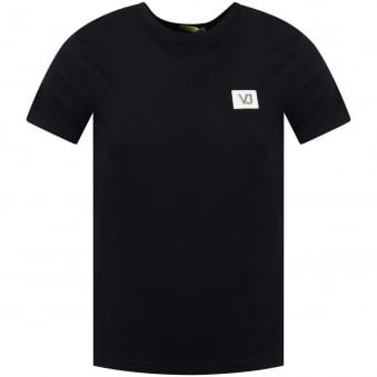 Versace Jeans Black Chest Logo Tee