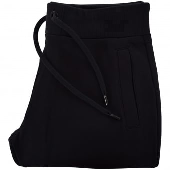 Versace Jeans Black/Gold Cuffed Bottom Joggers