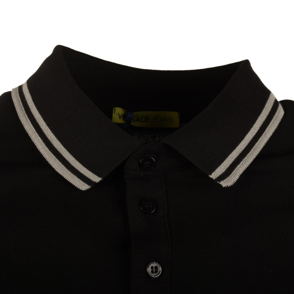 db4964e4a VERSACE JEANS Versace Jeans Black Polo Shirt - Men from ...