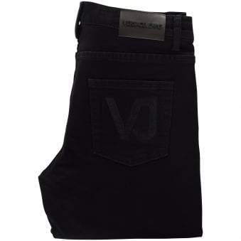 Versace Jeans Black Slim Fit Jeans