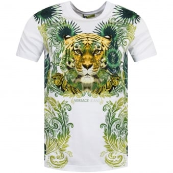 Versace Jeans Jungle Tiger Print T-Shirt