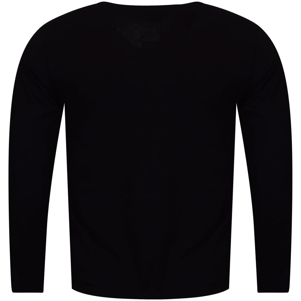 5096a970 VERSACE JEANS COUTURE Versace Jeans Large Silver Foil Logo T-Shirt ...