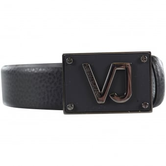 Versace Jeans Matte Badge Belt