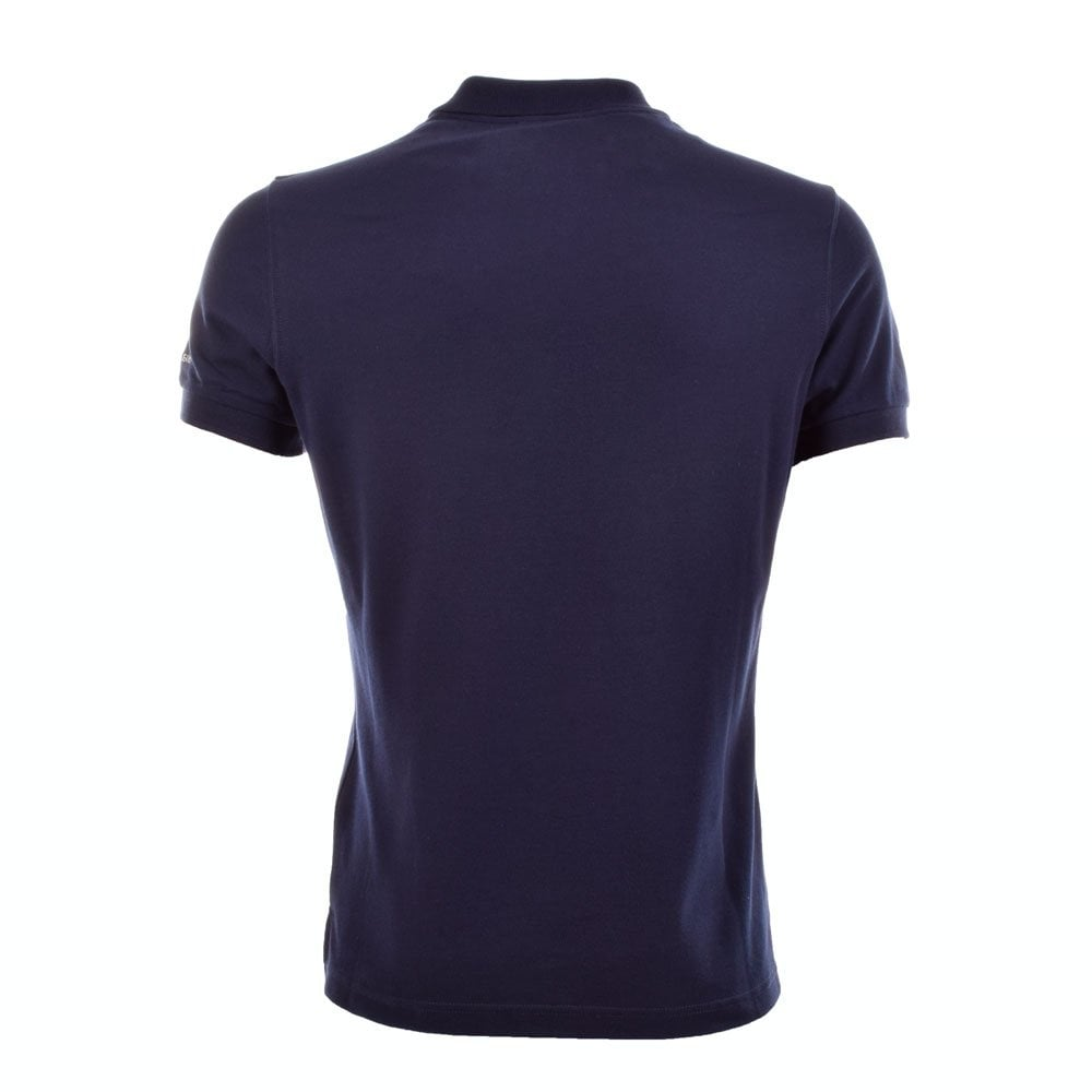 Versace jeans navy blue polo shirt b3gha713 versace for Polo shirt and jeans