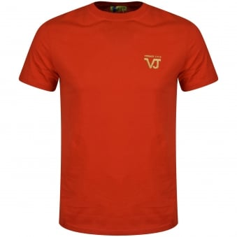Versace Jeans Red Logo T-Shirt