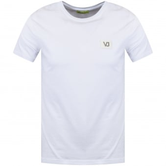 Versace Jeans White Chest Logo T-Shirt