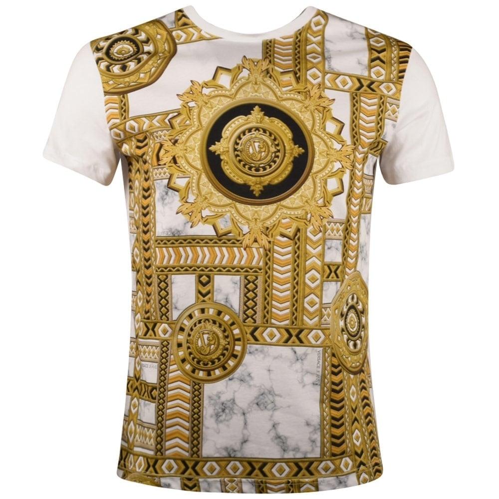 gold versace t shirt