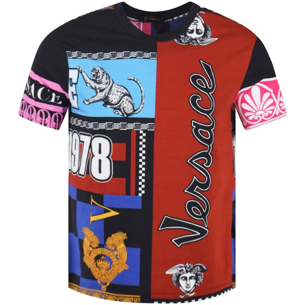 d6f1b060 VERSACE Multi Print T-Shirt - Men from Brother2Brother UK