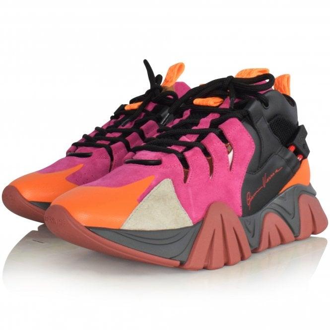 VERSACE Multicolour Squalo Hiker Trainers