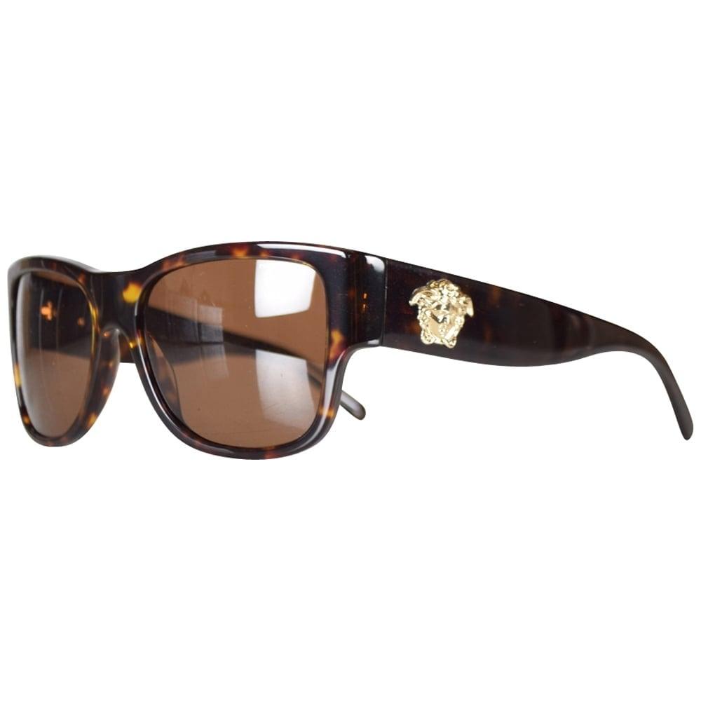 893b84c13b9 VERSACE Versace Tortoise Shell Wayfarer Sunglasses - Men from ...