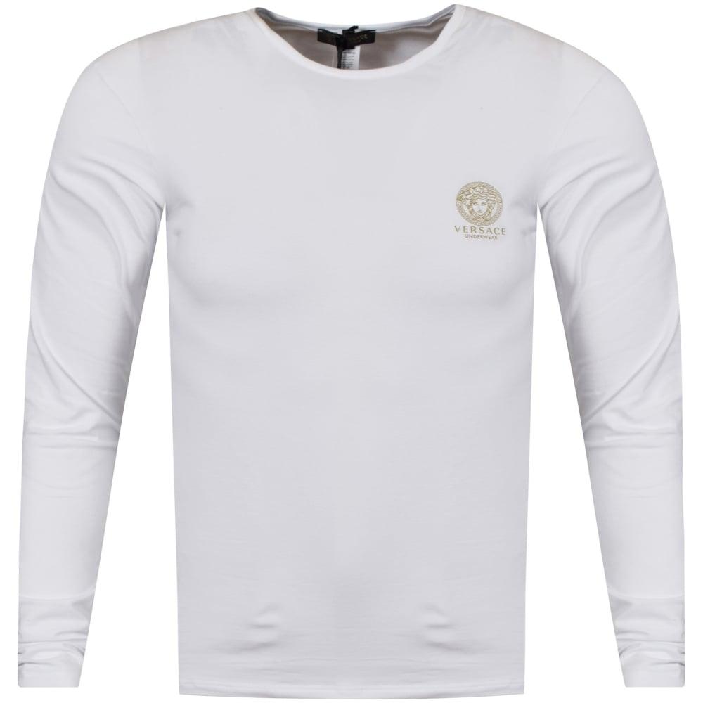 ac90c9d8561cc9 VERSACE UNDERWEAR Versace Underwear White Stretch Cotton T-Shirt ...
