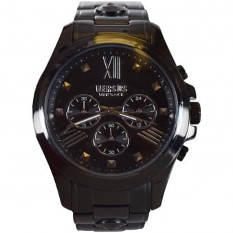 Versus Versace Black Chronograph Watch