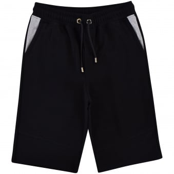 Versus Versace Black/Grey Jogger Shorts