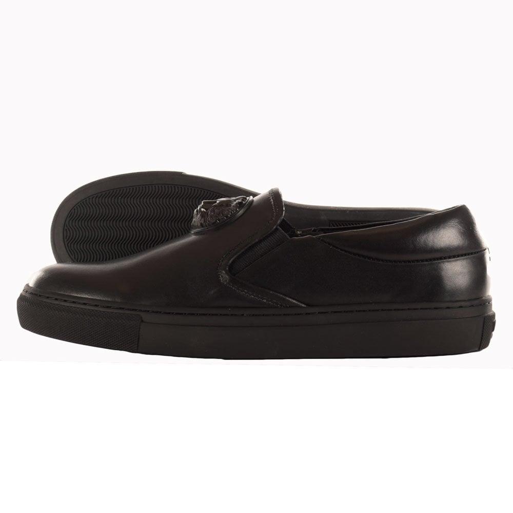 Versace Slip-ons - black