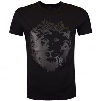 Versus Versace Black Lion Head T-Shirt