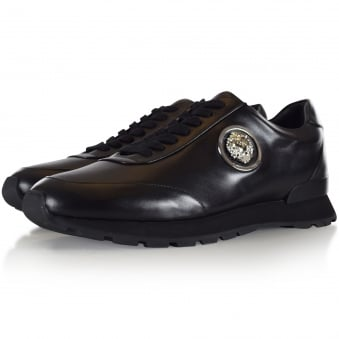 Versus Versace Black Lion Low Trainers
