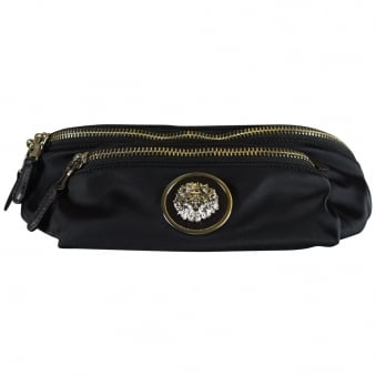 Versus Versace Black Nylon Waist Bag